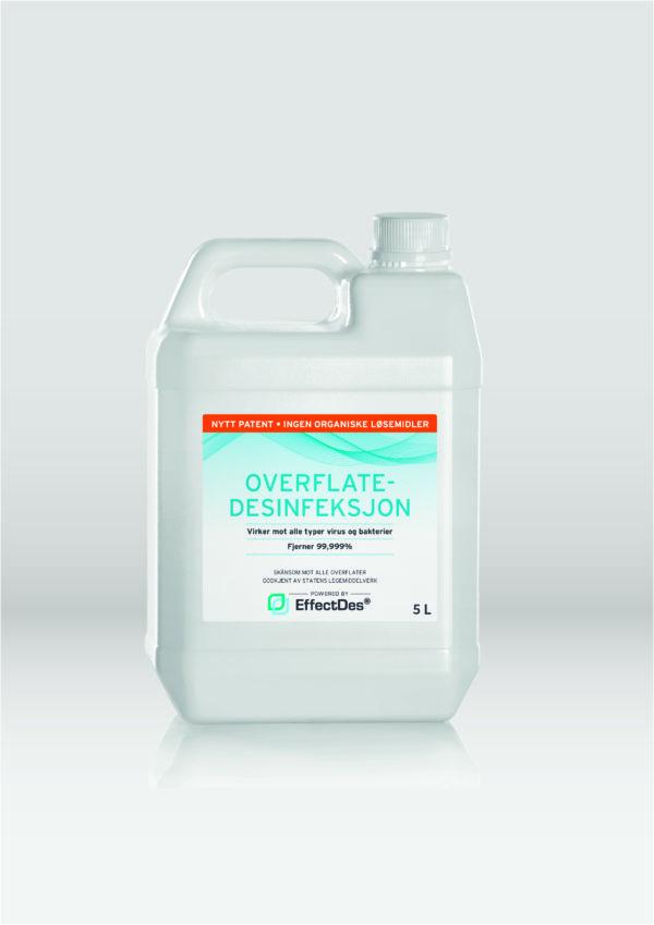 15 liter EffectDes Overflatedesinfisering u/alkohol